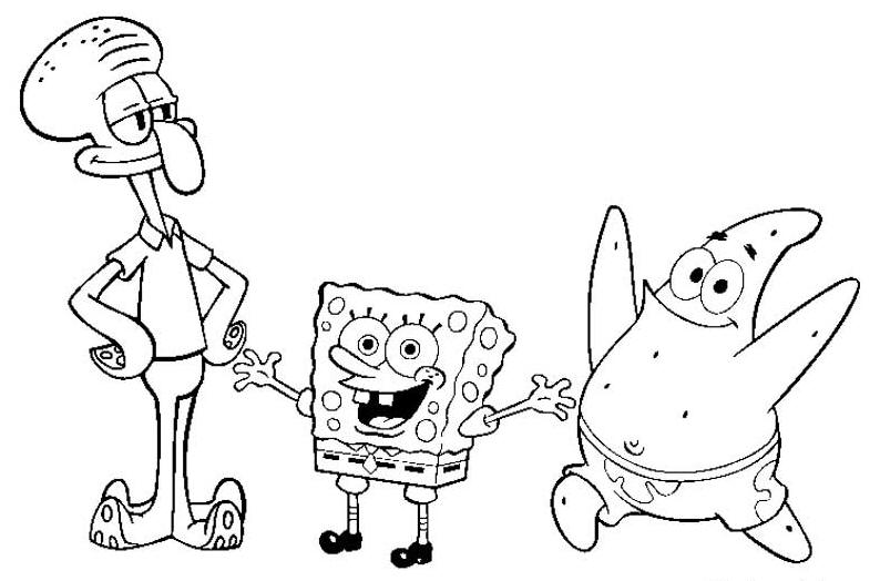 Coloring Pages Of Spongebob Wie Zeichnet 15